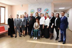 Встреча с делегацией ГБУ «Республиканский реабилитационный центр для детей и подростков с ограниченными возможностями им. И.С.Тарамова»